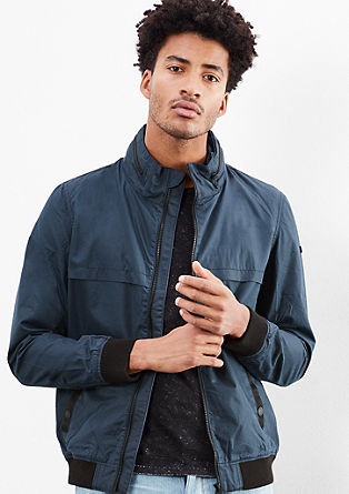 Lightweight canvas windcheater from s.Oliver