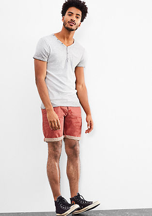 John Loose: Bermudas with a colour effect from s.Oliver