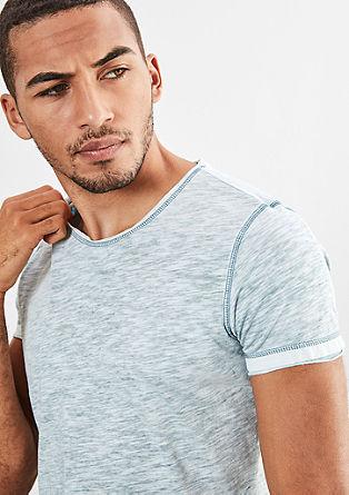T-Shirt in meliertem Design