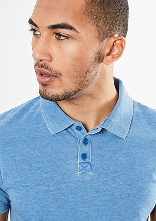 Polo shirt with a vintage finish from s.Oliver
