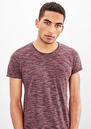 Meliertes Jerseyshirt