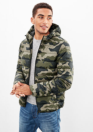 Lightly padded quilted jacket from s.Oliver