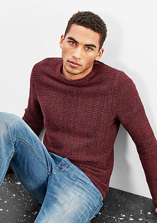 Relaxed knitted jumper from s.Oliver