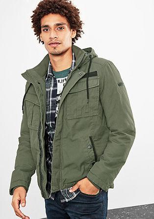 Topla platnena jakna
