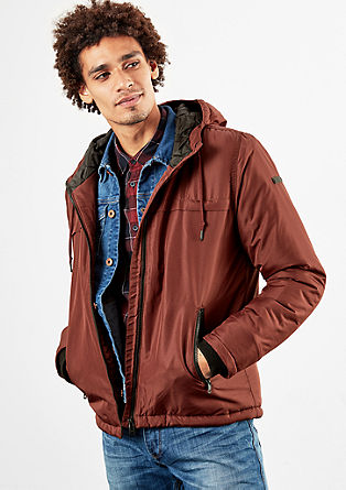 Padded canvas jacket from s.Oliver