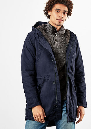 Wattierter Outdoor-Parka