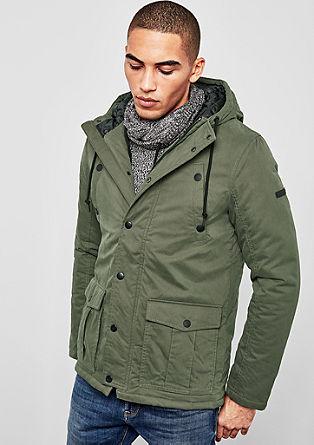 Zimní bunda se vzhledem parky