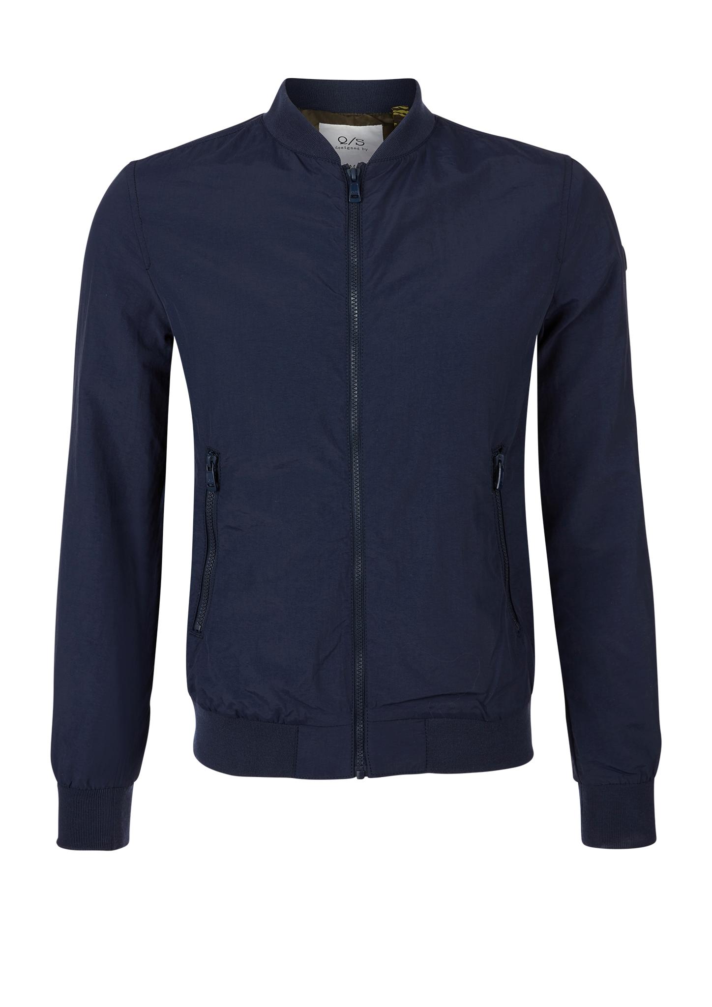 Blousonjacke | Bekleidung > Jacken > Blousons | Blau | Obermaterial 100% polyamid| futter 100% polyester | Q/S designed by