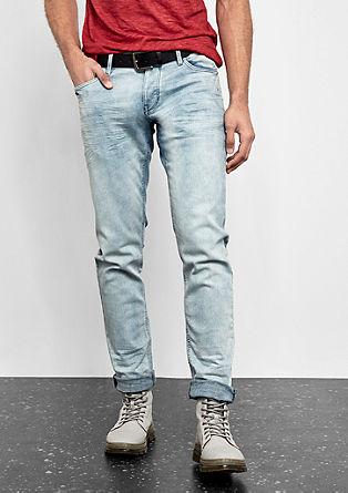 Rick Slim: Jeans mit Gürtel