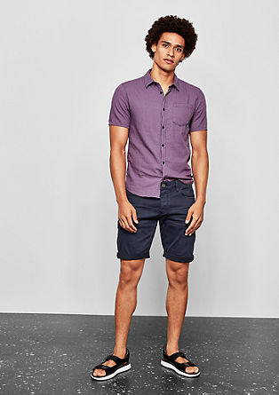 John Loose: washed Bermuda shorts from s.Oliver
