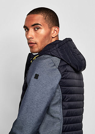 Quilted hooded jacket from s.Oliver