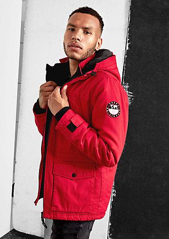 Wattierte Canvas-Jacke