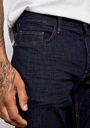 Rick Slim: jeans hlače z letvijo z gumbi