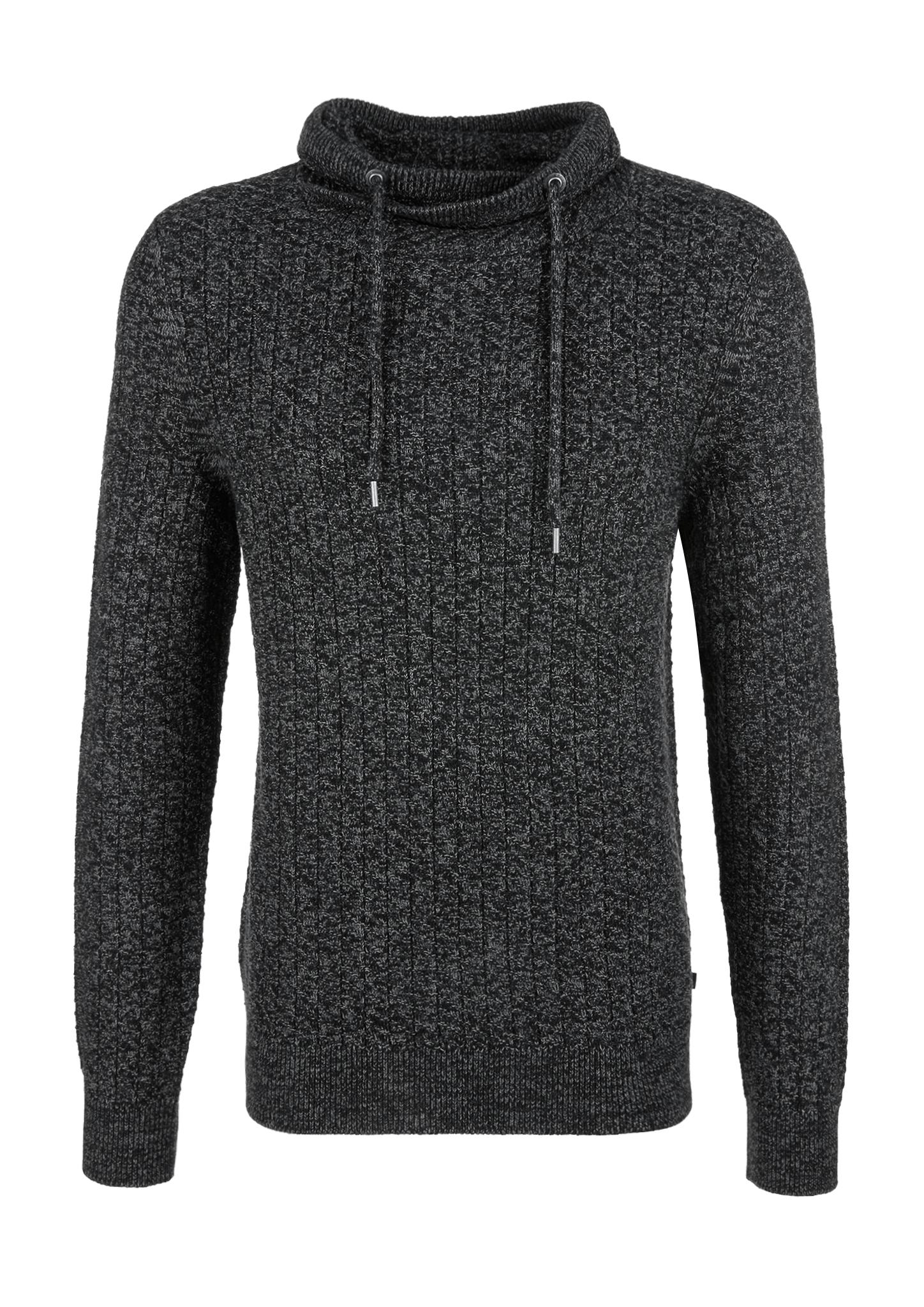 Pullover | Bekleidung > Pullover > Sonstige Pullover | Schwarz | 52% polyacryl -  48% baumwolle | Q/S designed by