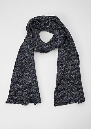 Gemêleerde sjaal van ribbreisel