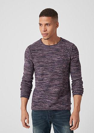 Fine knit melange jumper from s.Oliver