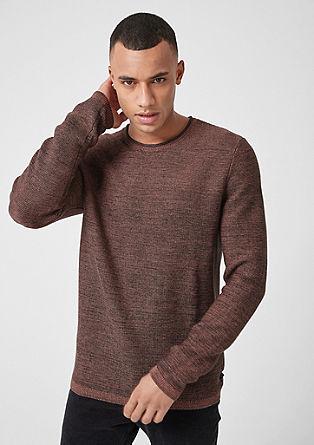 Meliran rebrast pulover