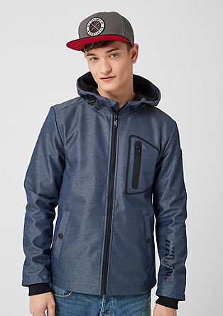 Outdoor jacket with hood from s.Oliver