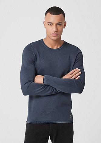 Pullover mit Wascheffekt