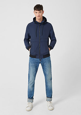 Jacket in a windbreaker style from s.Oliver