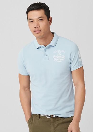 Poloshirt mit Stitching