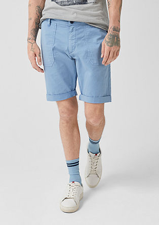 John loose: denim bermuda
