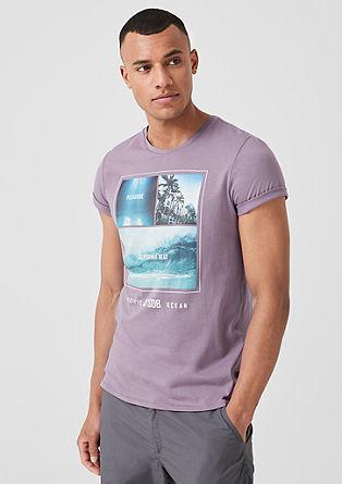 Jersey shirt met fotoprint