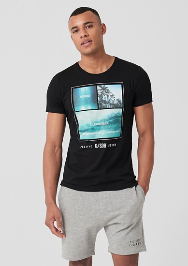 Jerseyshirt mit Fotoprint