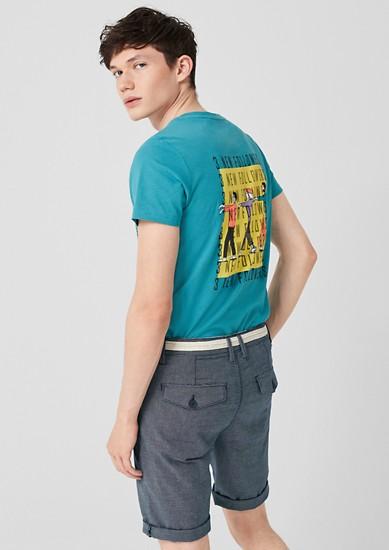 John Loose: bermuda hlače s teksturo
