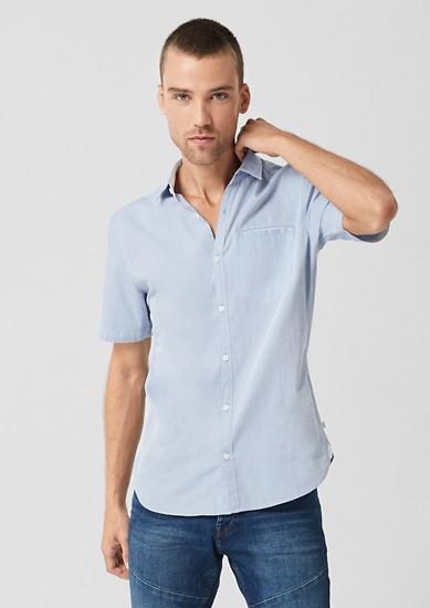 Extra Slim: chemise à motif tissé de s.Oliver