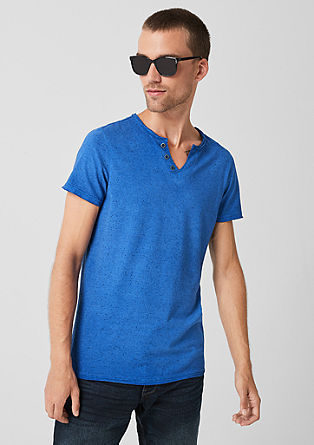 Henley T-shirt in a vintage look from s.Oliver