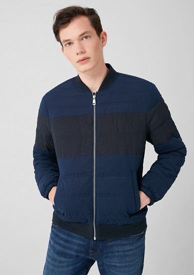 Quilted bomber jacket  from s.Oliver