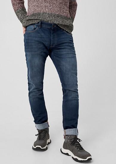 Rick Slim:Geknöpfte Stretchjeans