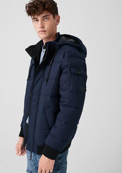 Wattierte Puffer Jacket