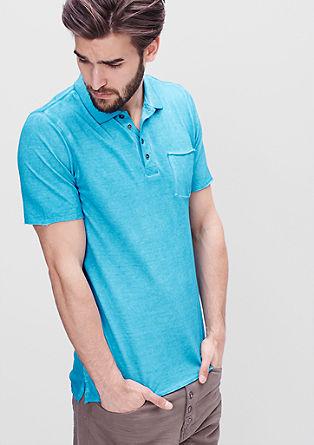 Poloshirt in Garment Dye