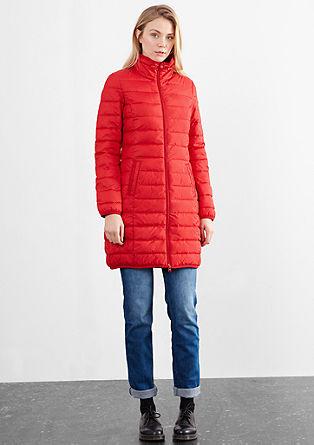Mantel met een light down-look