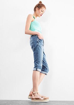 Catie slim: Capri-jeans