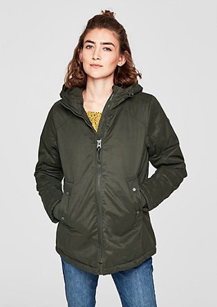 Casual short parka from s.Oliver