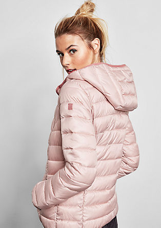Faux light down jacket from s.Oliver