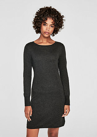 Slim fit knit dress from s.Oliver