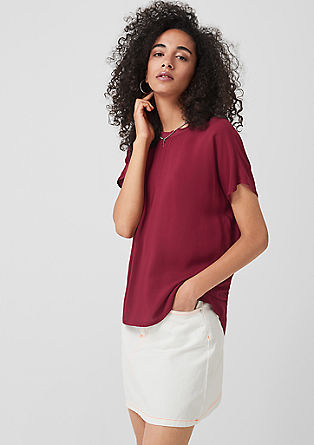 Luchtige oversized blouse