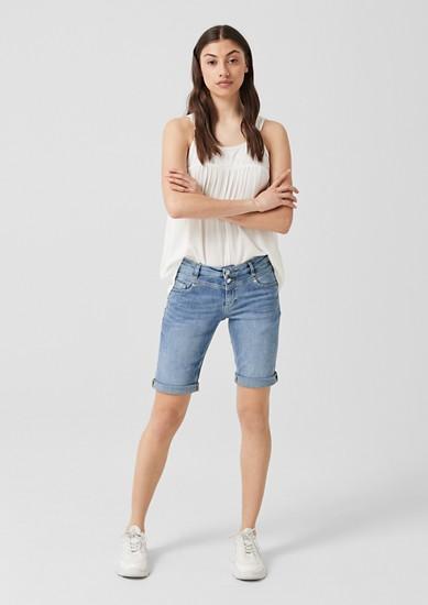 Catie Slim: Bermuda hlače iz jeansa