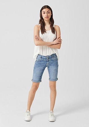 Catie Slim: Bermuda Jeans