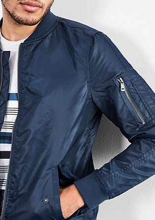Lightly padded bomber jacket from s.Oliver