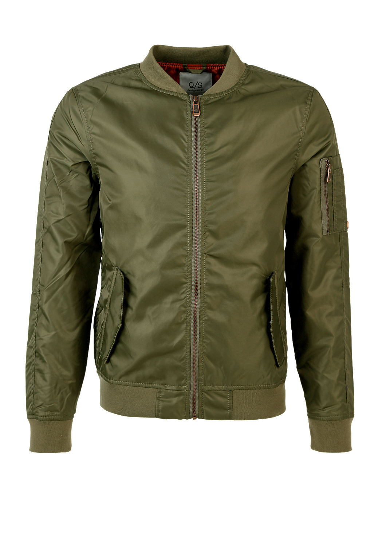 buy lightly padded bomber jacket s oliver shop. Black Bedroom Furniture Sets. Home Design Ideas