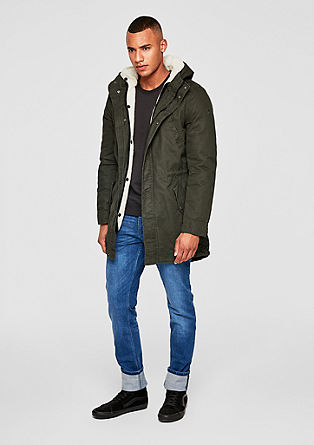 Parka with a detachable lining from s.Oliver