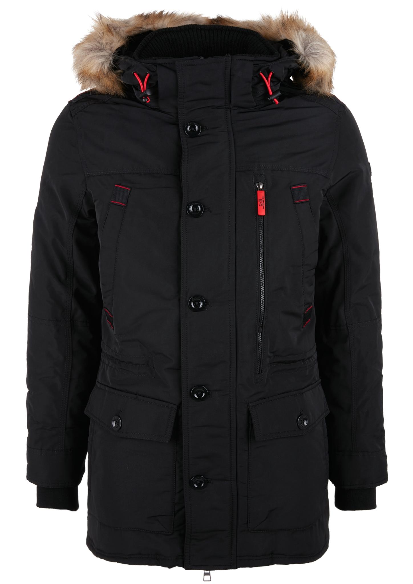 Winterjacke   Bekleidung > Jacken > Winterjacken   Schwarz   Obermaterial 100% polyester  futter 100% polyester   Q/S designed by