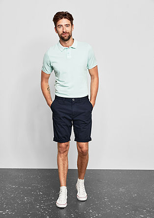 John Loose: textured Bermudas from s.Oliver
