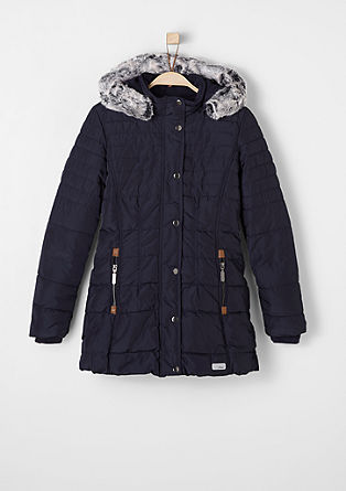 Lined quilted coat from s.Oliver