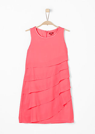 Chiffon flounce dress from s.Oliver